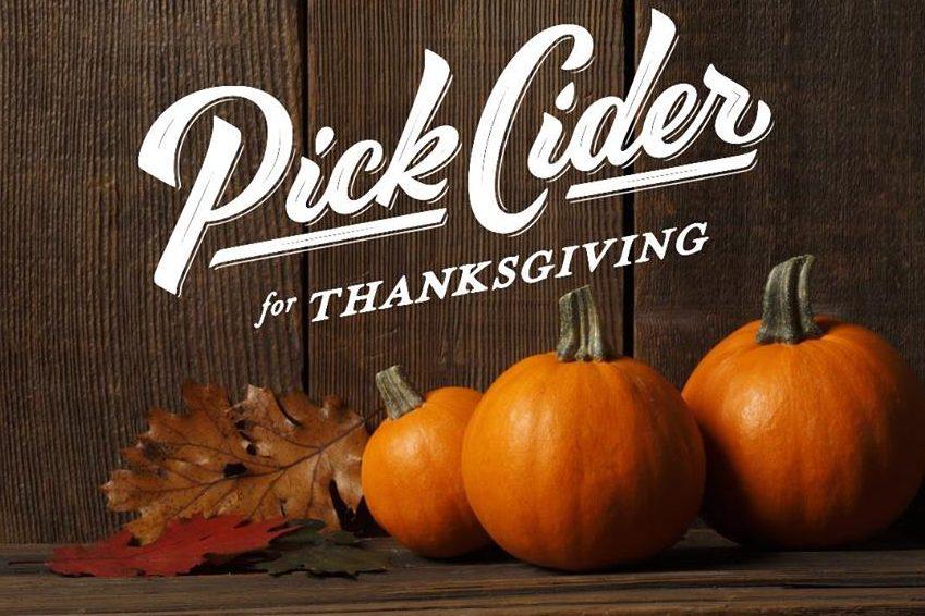 Pick Cider for Thanksgiving