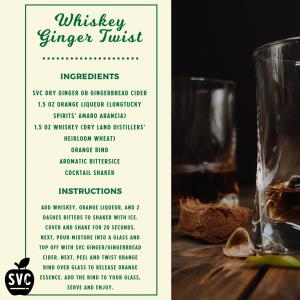 Whiskey Ginger Twist