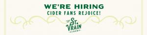 We're Hiring. Cider fans rejoice!